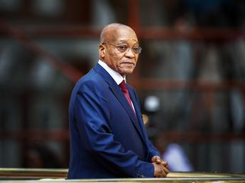 Jacob Zuma, presidente da África do Sul (Reuters/Nic Bothma/Pool)