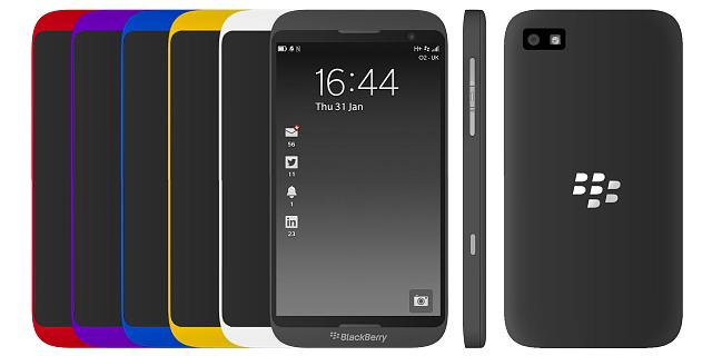 BlackBerry Z20 (Foto: Crackberry)