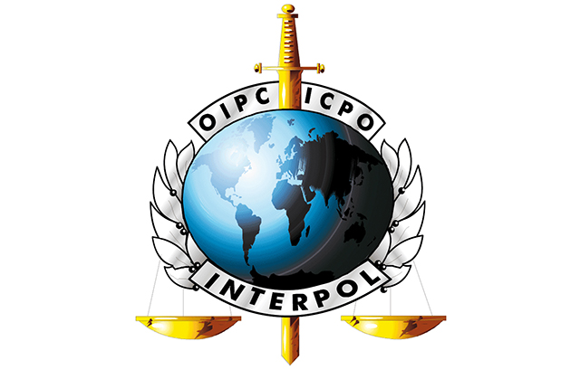 Logo da Interpol. (DR)