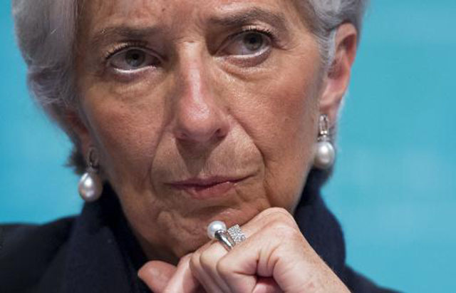 Christine Lagarde (AFP)