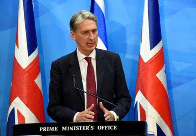 Philip Hammond (Foto de DEBBIE HILL/POOL/AFP)