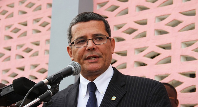 Rui Falcão, governador do Namibe (Foto: Angop)