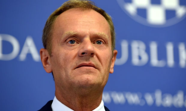 Presidente do Conselho Europeu, Donald Tusk (D.R)
