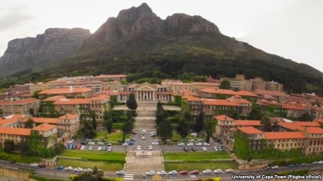 Universidade de Cape Town, África do Sul (VOA)