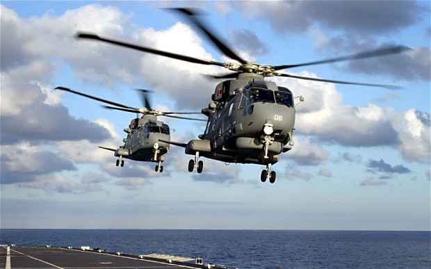 Agusta Westland helicopters (Foto: Rex Features)