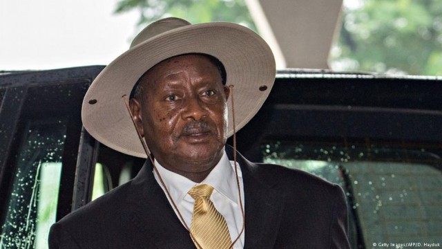 Yoweri Museveni (GETTY IMAGES)
