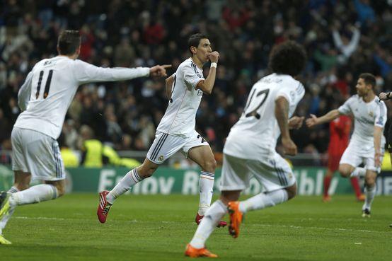 Liga dos Campeões: Real Madrid só precisa de dez jogadores para golear o Galatasaray (4-1)