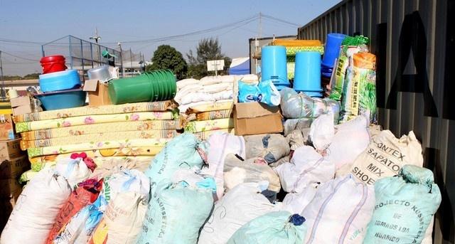 Cabinda: Tecnovia entrega donativo a 250 alunos de Ganda Cango