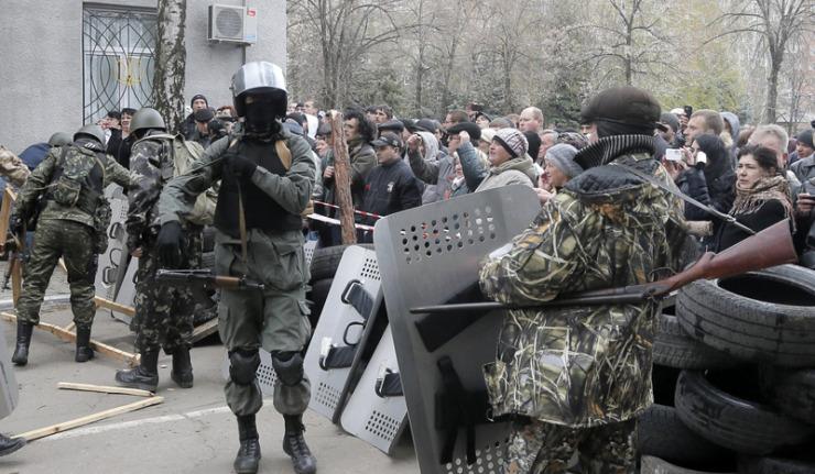 Ucrânia: Operação especial na Ucrânia: tiroteio em Slavyansk