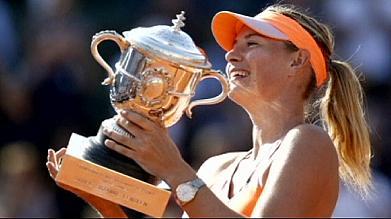 Roland Garros: Sharapova vence final e embolsa 1,65 milhões de euros