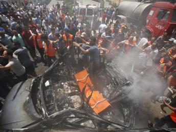 Israel pede a moradores de Gaza deixarem locais usados pelo Hamas