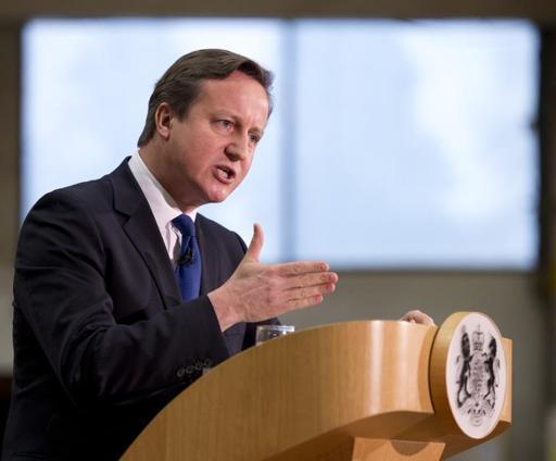 Cameron admite que conter imigrantes europeus exige mudanças na UE