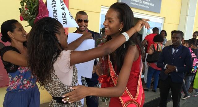 Huíla: Miss Angola recebida no Lubango