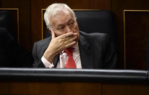 José Manuel Margallo (Foto de PIERRE-PHILIPPE MARCOU/AFP)