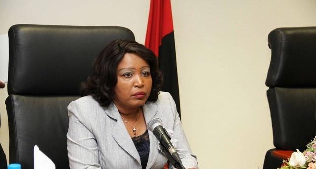 Rosa Pacavira- Ministra do Comércio (Foto: Pedro Parente)