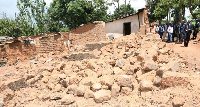 Chuvas desalojam 140 famílias nos municípios de Cazengo e Lucala (Foto: Aspirante/Arq.)