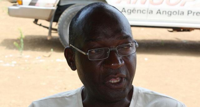 DIirector provincial da Assistência e Reinserção Social, Manuel José António (Foto: Pedro Moniz Vidal)