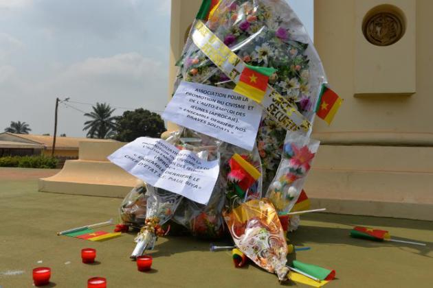 Homenagem a vítimas do Boko Haram, na capital de Camarões (AFP/AFP)