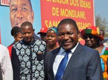 Filipe Nyusi, presidente de Moçambique (Cristiana Soares)