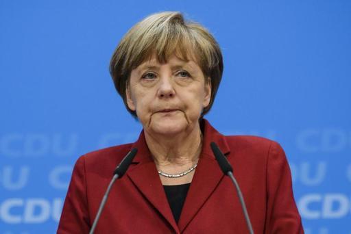 Angela Merkel (Foto de CLEMENS BILAN/AFP)