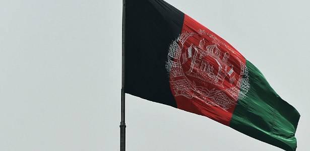 Bandeira do Afeganistão, Estado cuja capital é Cabul (DR)