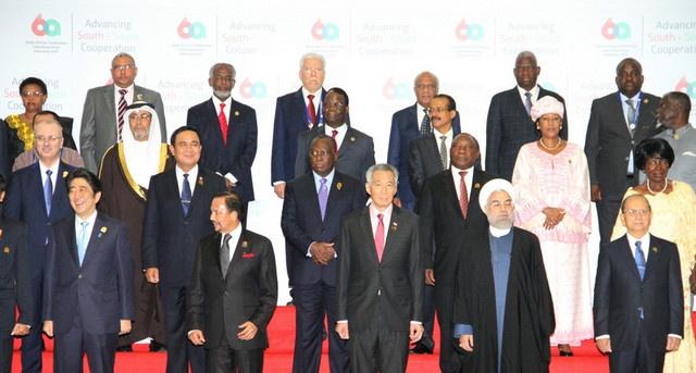 Indonésia: Unidos e convictos num futuro próspero, lideranças africanas e asiáticas encerram hoje encontro de Cúpula