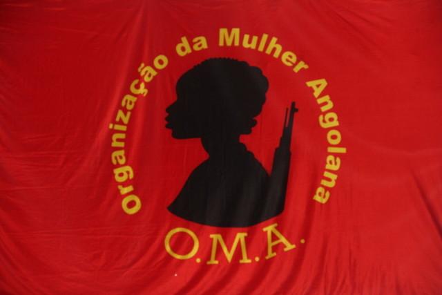 Bandeira da OMA (Foto: Bartolomeu do Nascimento)