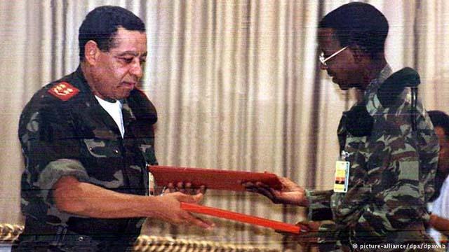 Registo de Memórias: Acordo de paz em Angola