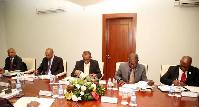 1ª Conferência Extraordinária dos Presidentes dos Grupos Parlamentares (Foto: Jorge Mulongue)