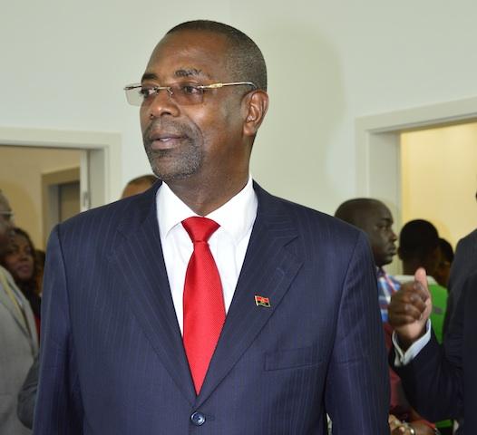 O ministro da Juventude e Desportos, Gonçalves Muandumba. (Foto: D.R.)