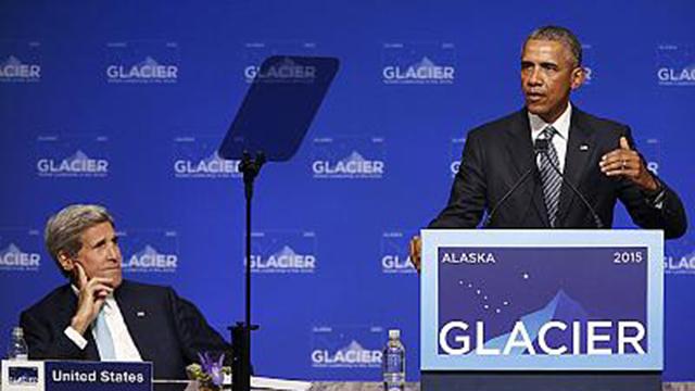 Alterações climáticas (e do nome de uma montanha) dominam visita de Obama ao Alasca (vídeo)