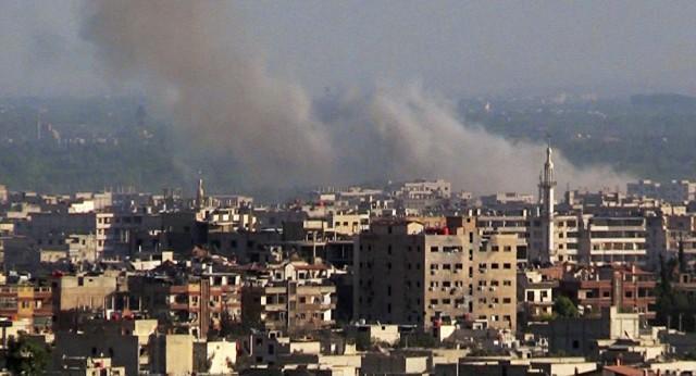 Dois morteiros atingem embaixada russa em Damasco