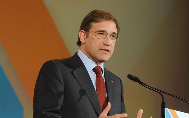 """Passos transmitiu a Cavaco que coligação deverá """"constituir governo"""""""