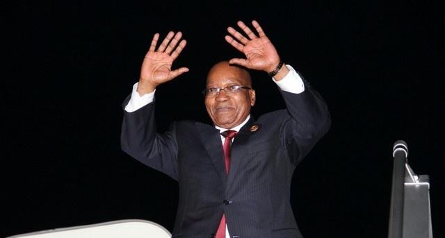 Presidente da África do Sul ,Jacob Zuma (Foto: Angop/Arq)