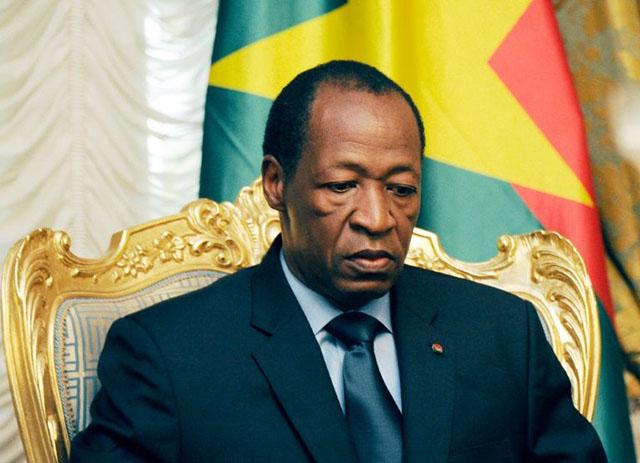 Ordem de captura internacional contra ex-presidente de Burkina Faso