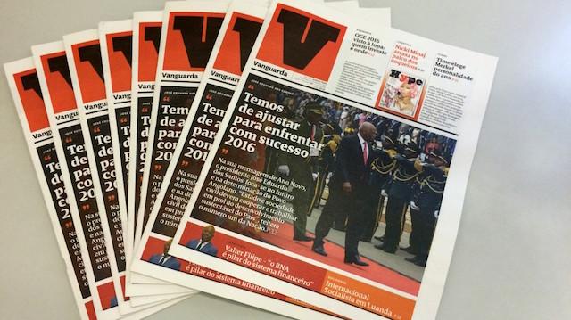 Angolana Media Rumo prepara jornal Vanguarda