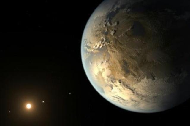 Cientistas descobrem exoplaneta gigante orbitando duas estrelas