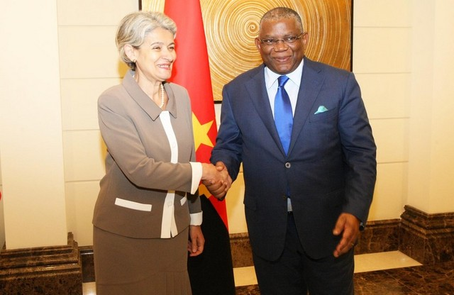 O ministro das Relações Exteriores, Georges Chikoti, recebeu nesta segunda-feira, em Luanda, a candidata ao posto de secretário-geral das Nações Unidas, a búlgara Irina Bokova, actual directora-geral da UNESCO.