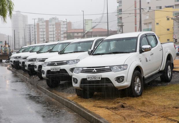 Programa Litoral Sustentável recebe carros e equipamentos