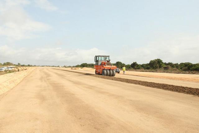 Registados avanços na construção da auto-estrada Soyo/Nzeto