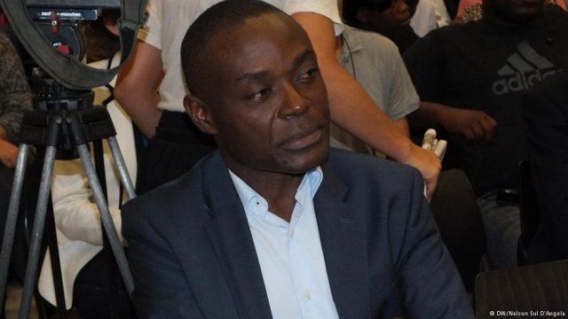Alexandre Neto Solombe, presidente do MISA-Angola (DW)