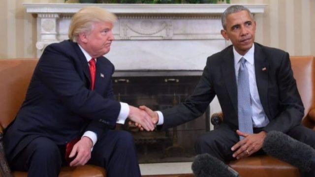 Trump e Obama falaram mais de hora e meia. E prometem cooperação mútua