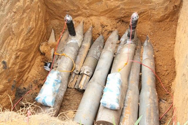 Cuanza Norte: Destruídos mais de oito mil engenhos explosivos no Samba Cajú
