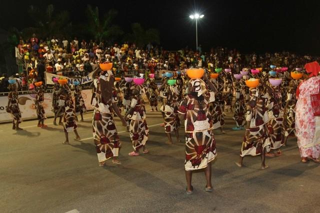 Ordem de desfile dos grupos infantis