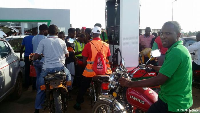 Combustíveis em ruptura no centro de Moçambique