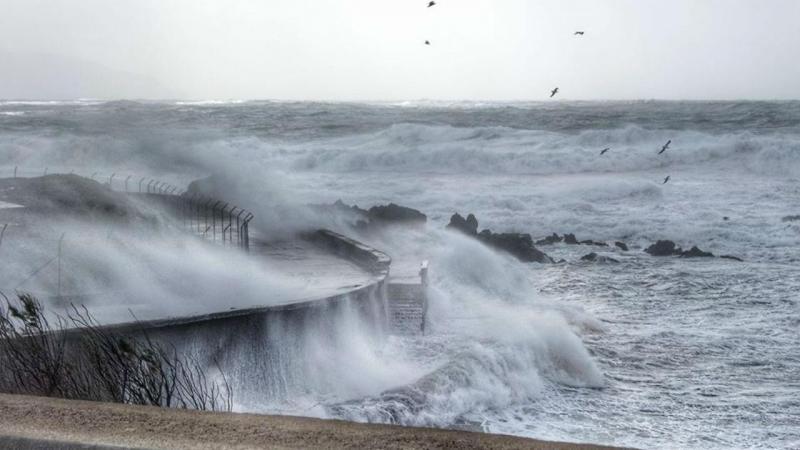 Chuva forte e agitação marítima colocam litoral e Açores sob aviso amarelo