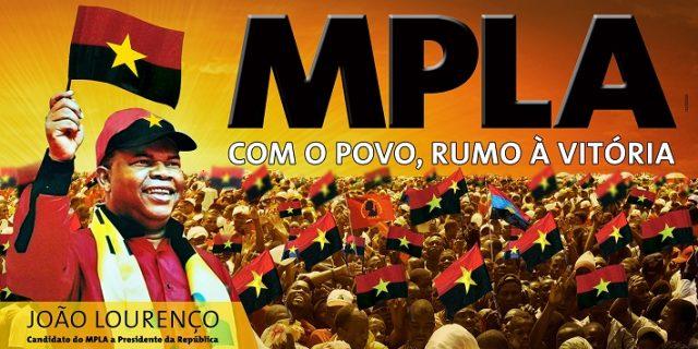 Viana acolhe acto do MPLA para divulgar imagem do candidato à Presidência da República