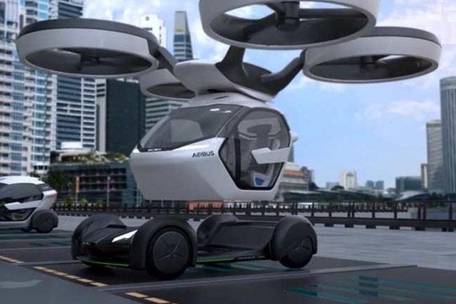 Airbus Acelera Projecto De Carro Voador Vahana Portal De
