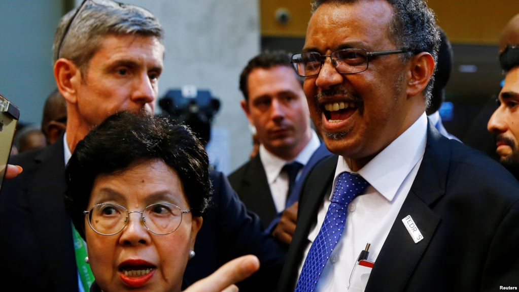 Etíope Tedros Adhanom eleito novo director-geral da OMS