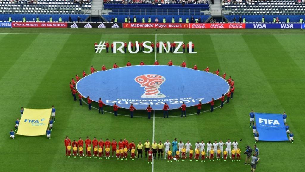Taça das Confederações: Rússia abre com vitória frente à Nova Zelândia